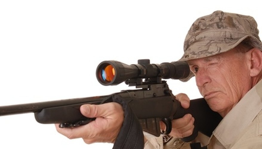How to Adjust a Tasco Rifle Scope