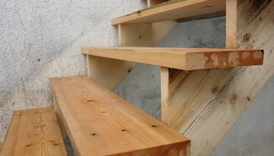 Knowing the parts of stairs makes measuring easier