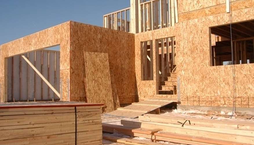 Around one million new homes are built each year in the U.S.