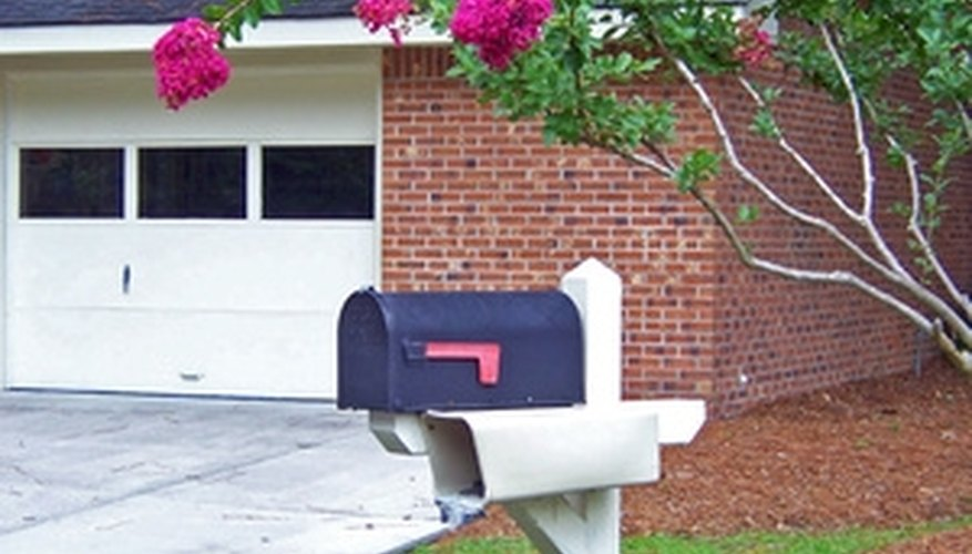 Proper mailbox size and location expedite mail delivery.
