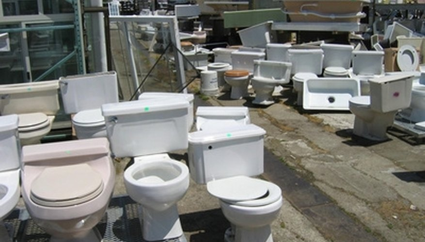 Many types of toilets use an internal flapper.