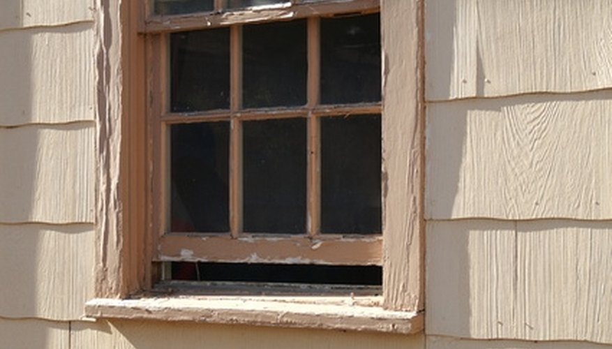 Replace window sashes on old, drafty windows.