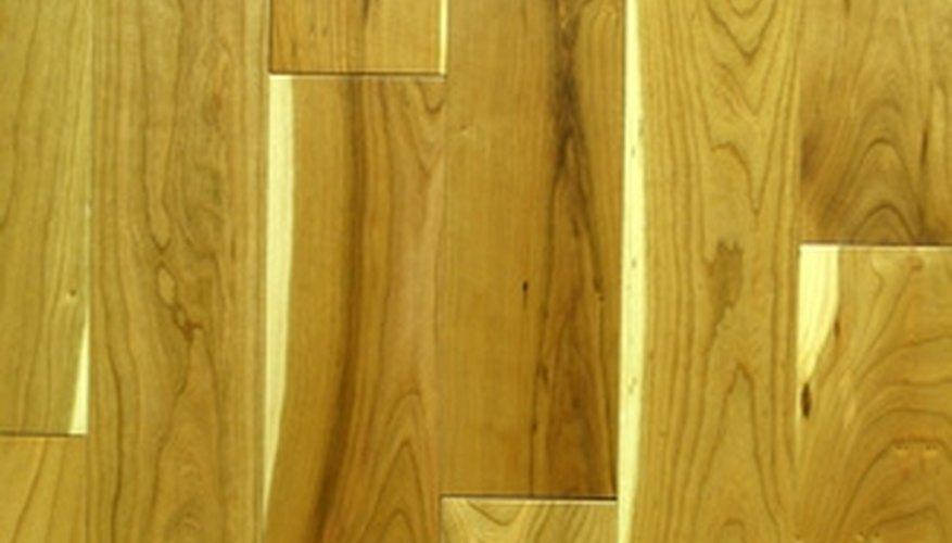Combine old and new wood flooring.
