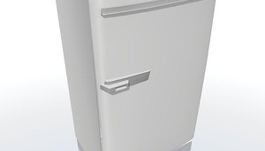 Defrost a Kenmore Refrigerator