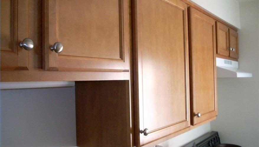 Kitchen cabinet doors.