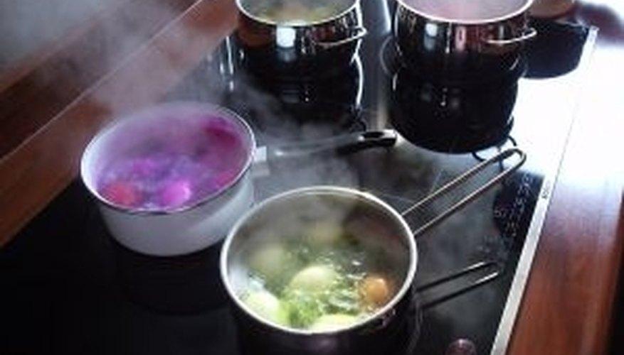 Clean Black Ceramic Cooktops