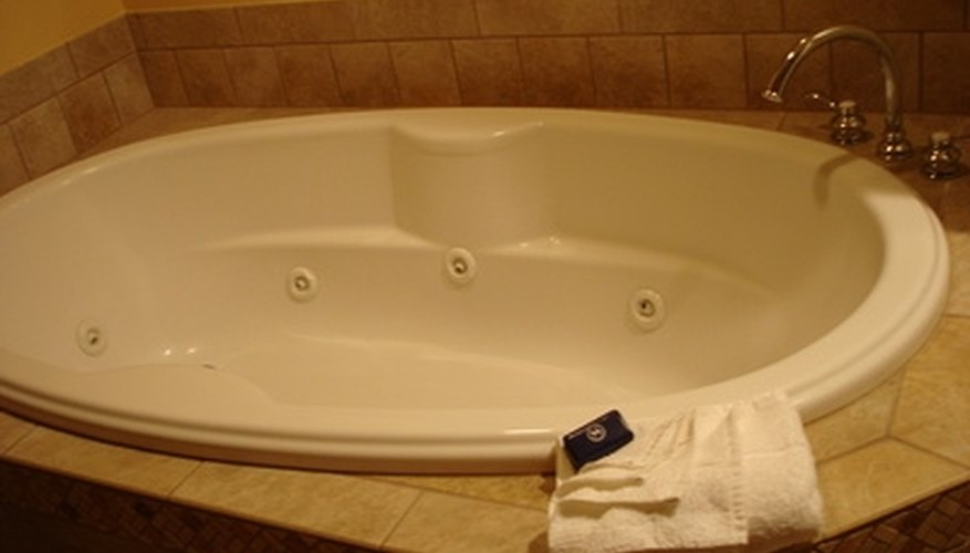whirlpool tub. Whirlpool tubs pulsate water on sore areas of the body to relax and refresh  you How Adjust Jets an MTI Tub HomeSteady