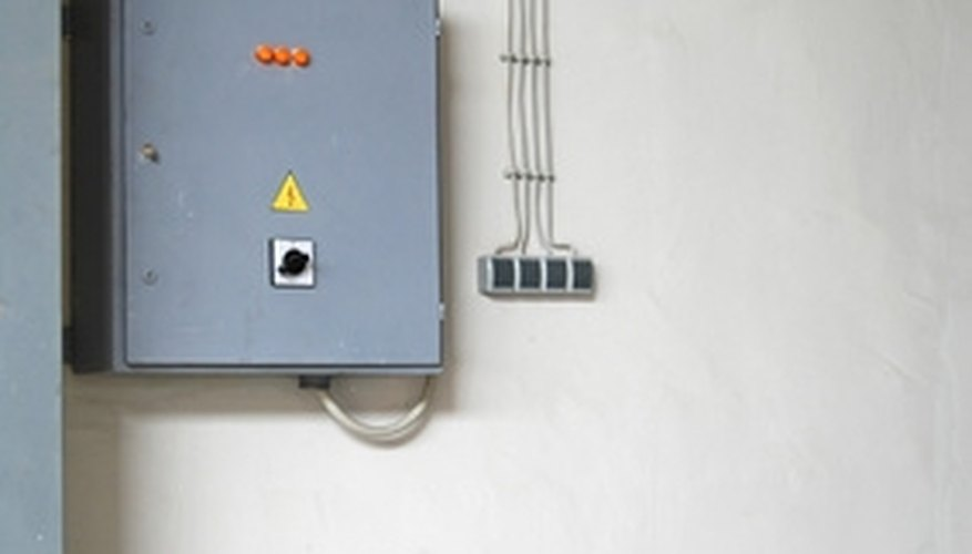 Connect all wires to circuit breakers on a new panel
