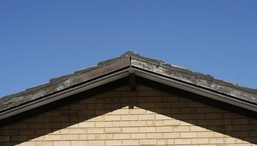 You can shingle a gable roof, even with no roofing experience.
