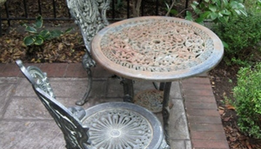 Repairing and refurbishing your wrought iron patio furniture is cheaper than replacing it.
