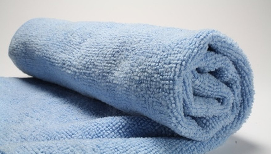 Clean your windows to a crystal-clear shine with microfiber cloths.
