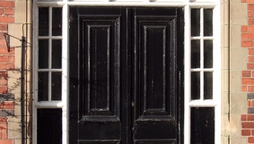 The right casing can transform the look of a doorway.