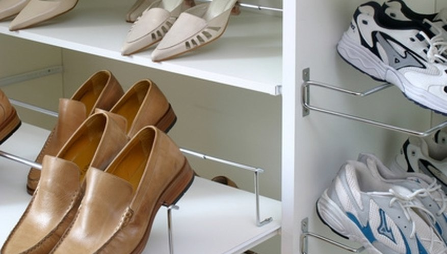 You can use all areas to store items in a closet with a slanted ceiling.