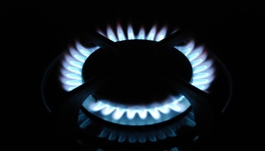 A gas range is an attractive alternative to an electric stove.
