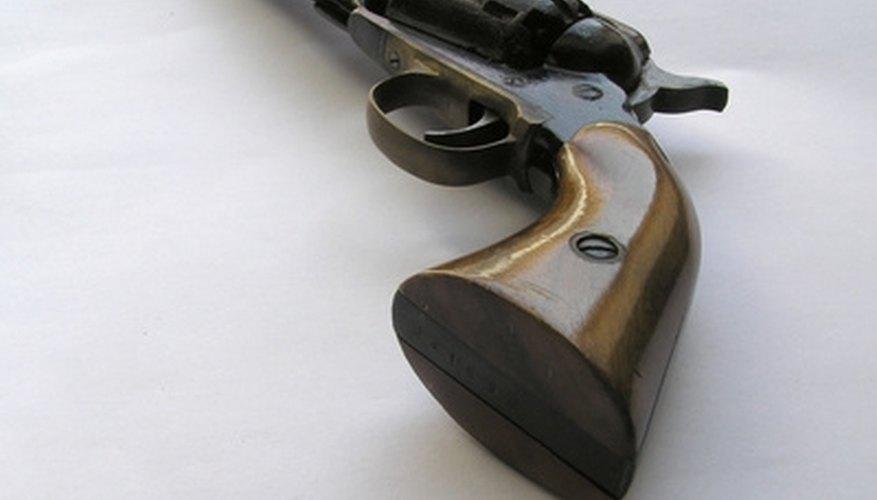 How to Identify a Colt Second Generation Black Powder Revolver