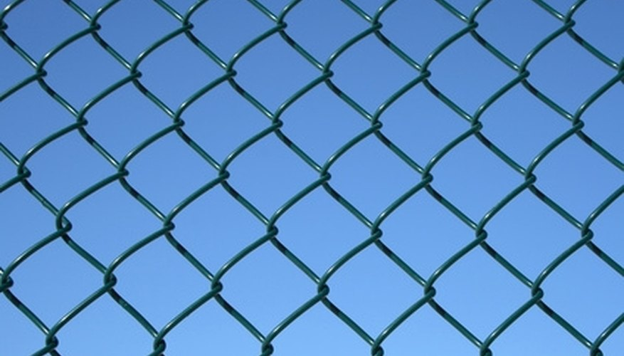 You can add privacy to a chain-link fence.