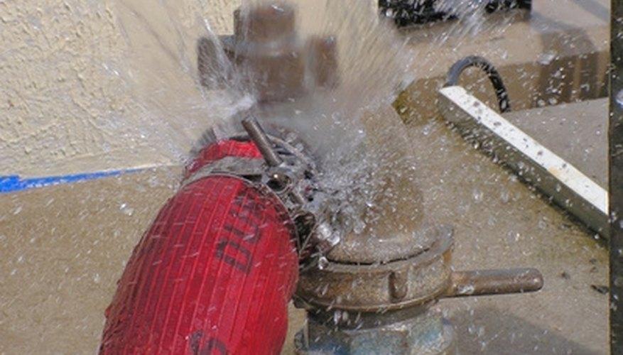 Fix water leaks.
