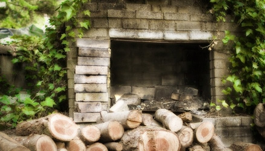 Build your own fireplace barbecue.