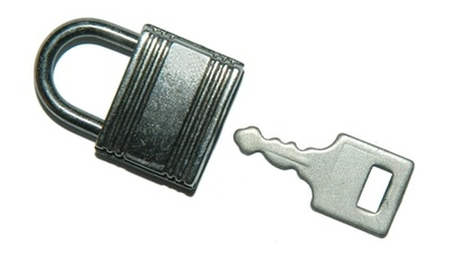 Secure a chain link gate with a length of chain and lock.