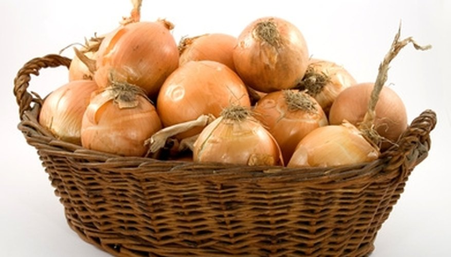 Onions are a food crop grown in California's high desert.