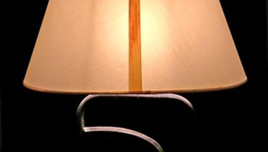 Explore alternatives to standard lamp shades.