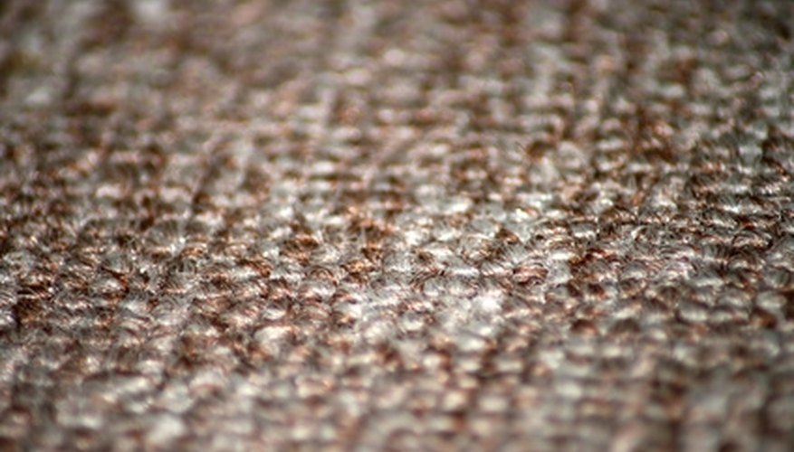 Several different types of carpet backing are available.