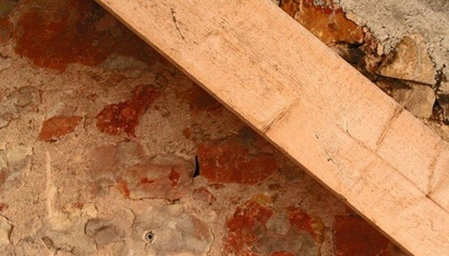 A wood beam, also called a