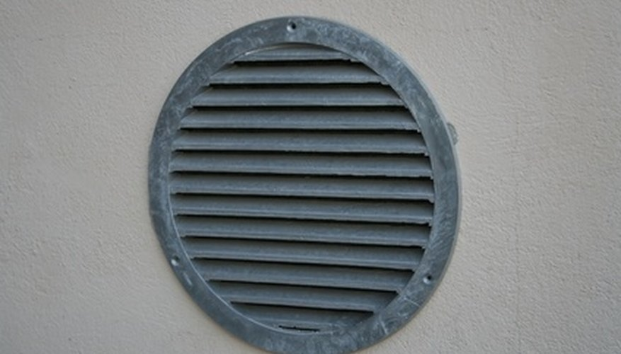 You might find vent covers on the floor, wall or ceiling.