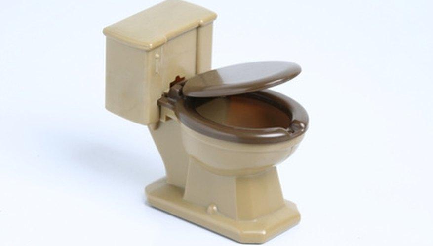 Toilet inlet valve repair.