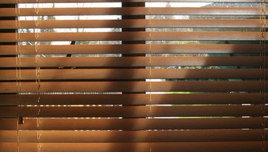 Keep your blinds dry and control indoor humidity to reduce the chances of mildew growth.