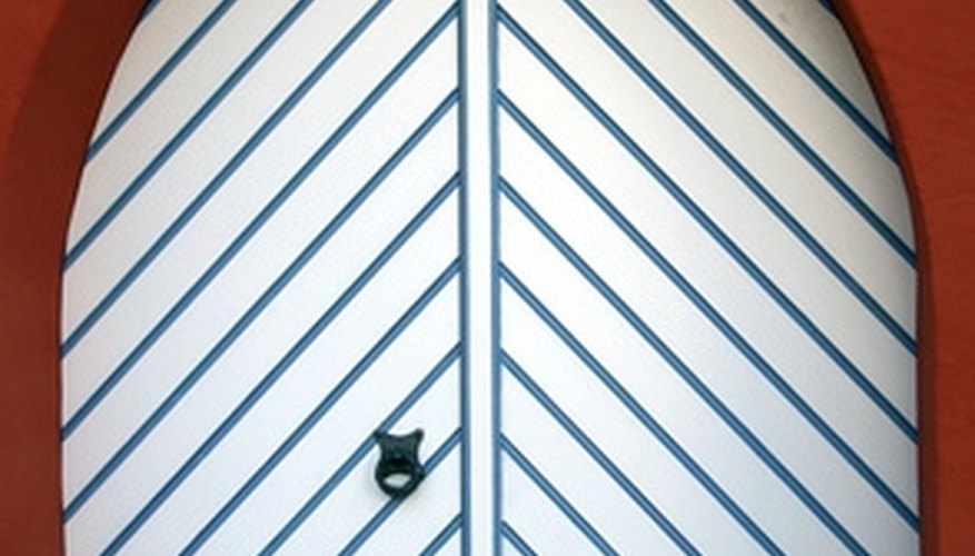 Prevent air leaks under your doors by adjusting thresholds.