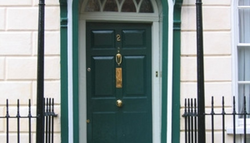Exterior doors may need replacing due to weathering.