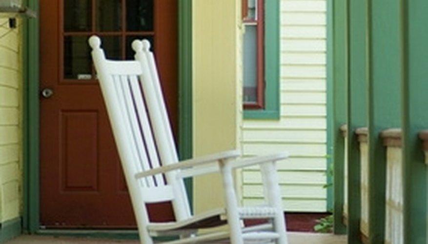 Enclosing a porch increases privacy.