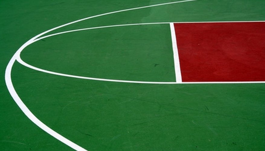 A properly painted and sealed gymnasium floor will provide years of play with very little upkeep.