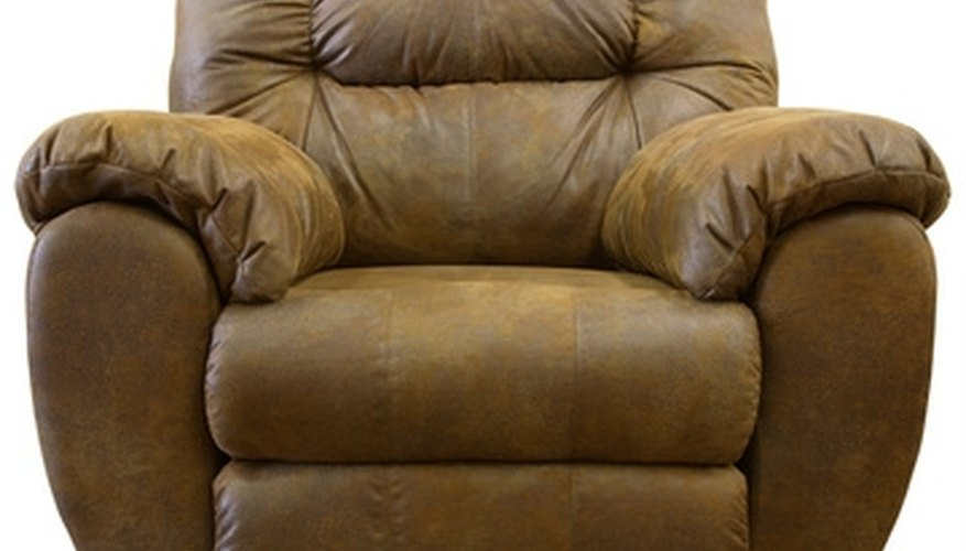 Reupholstering a recliner is a less-expensive alternative than purchasing a new chair. & How to Measure Fabric for Upholstery on Recliners | HomeSteady islam-shia.org
