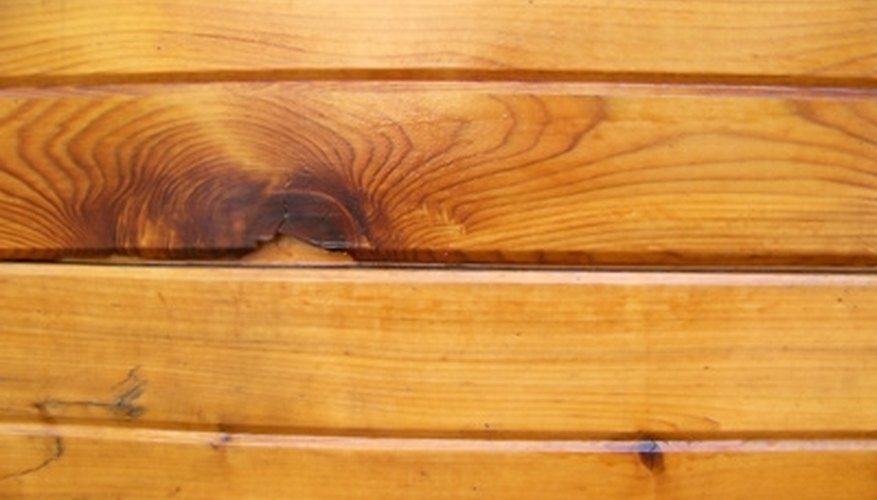 Thin planks can dress up a blemished garage door.