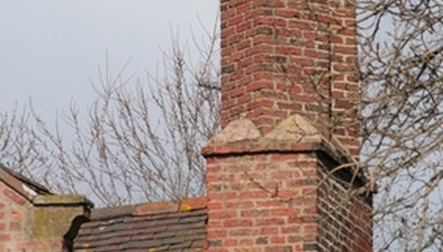 Build a chimney for your home by following codes and requirements.