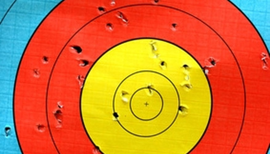 Use a target to practice with your bow.