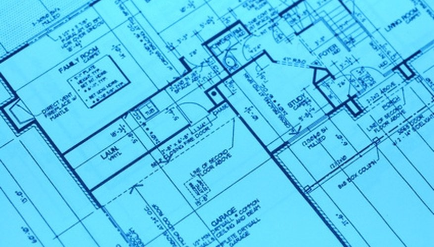 House plans require a great deal of time and expertise.
