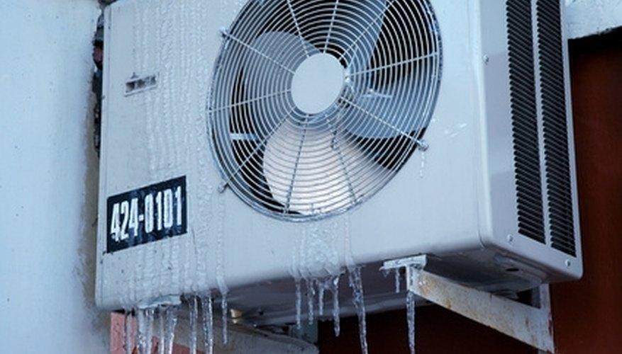 Clean coils in an air handler.