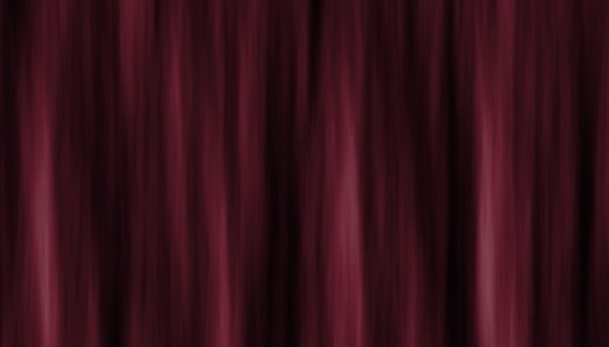 Clean velvet curtains with dishwashing soap.