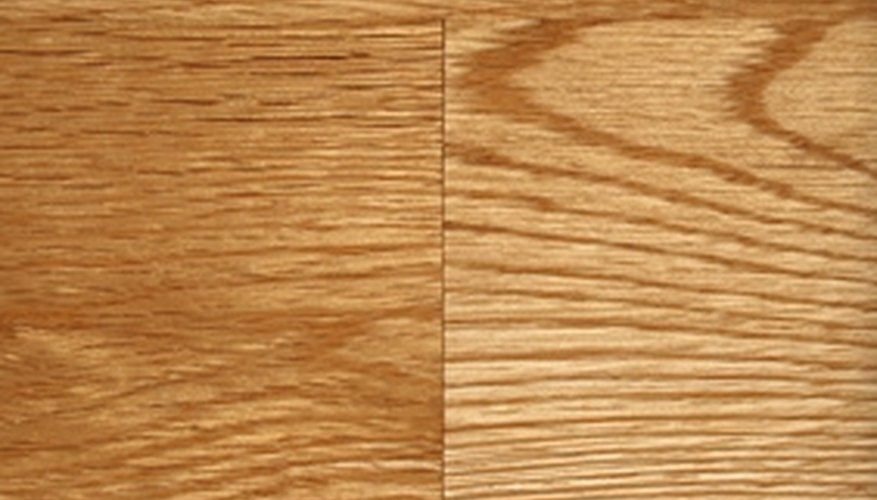 Pergo laminate flooring looks like wood but requires less maintenance.