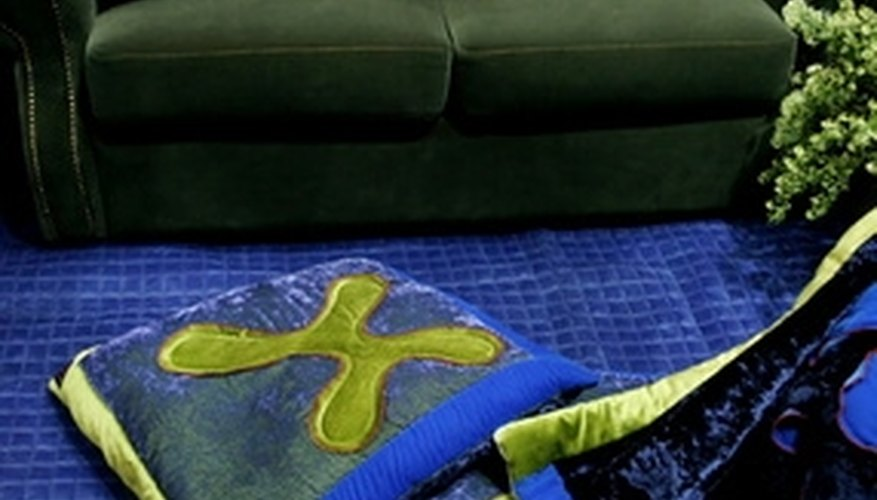 Use rubbing alcohol to remove tar from upholstered furniture.