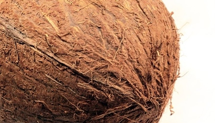 Coir carpets and rugs are made from the husks of coconuts.