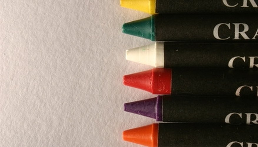 Use a simple process to remove crayon stains from your clothing and furniture.