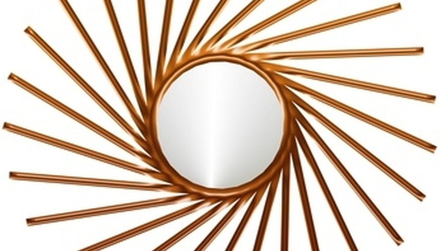 Mirrors come in a wide range of shapes, sizes and colors.