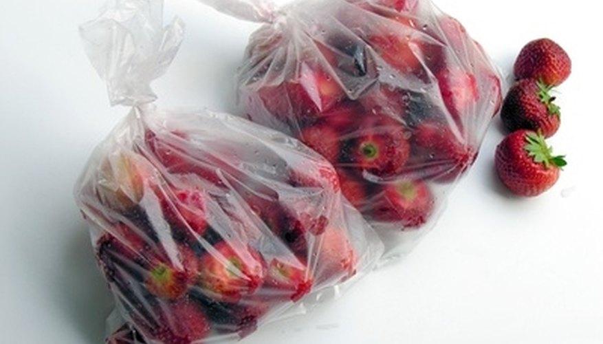 Certain foods will spoil, like fresh fruit.