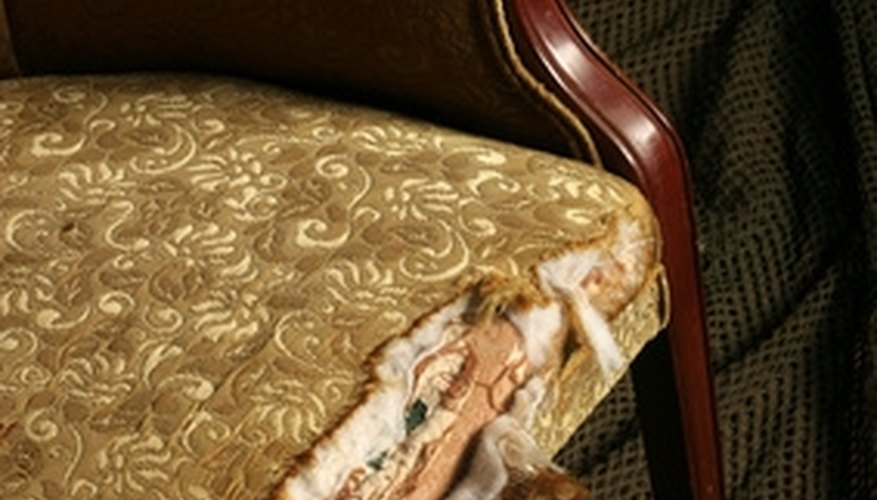 Replace the padding of old furniture with memory foam.