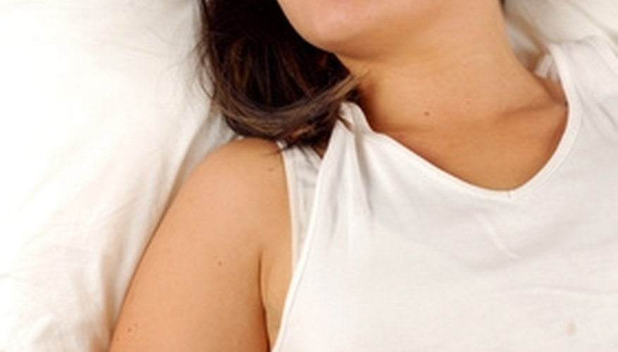 Get a good night's sleep with a plush mattress.