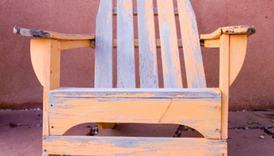 Build your own beach chairs.